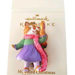 Hallmark ornaments my third Christmas